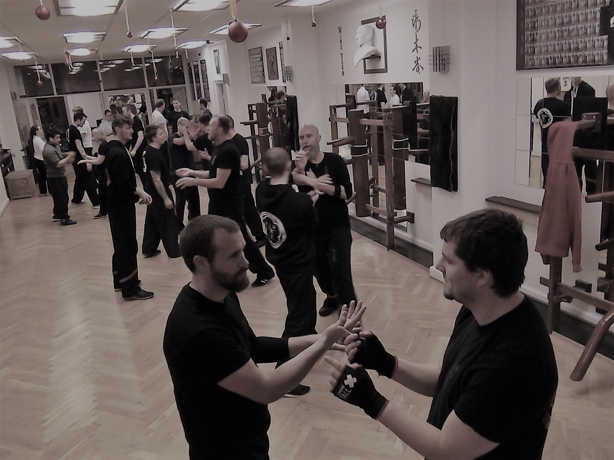 Chi Sau - Wing Tsun Center - Copenhagen